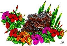 iguana-white