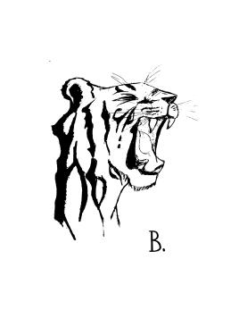 tiger-yawn-ink